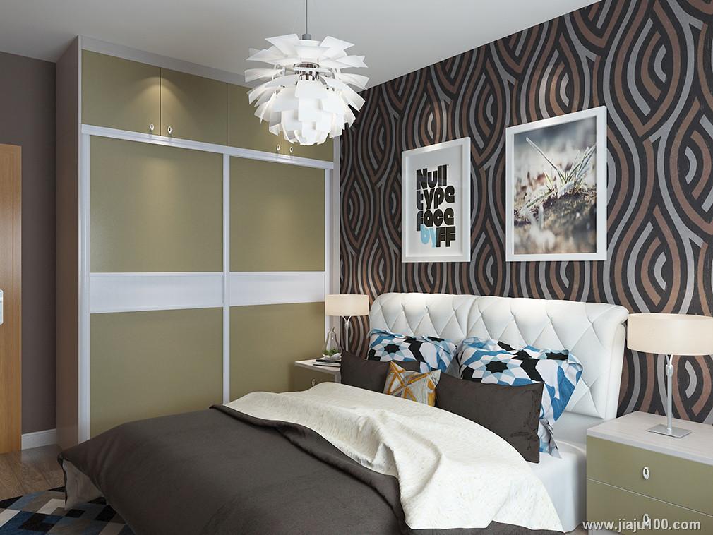卧室整体衣柜图片