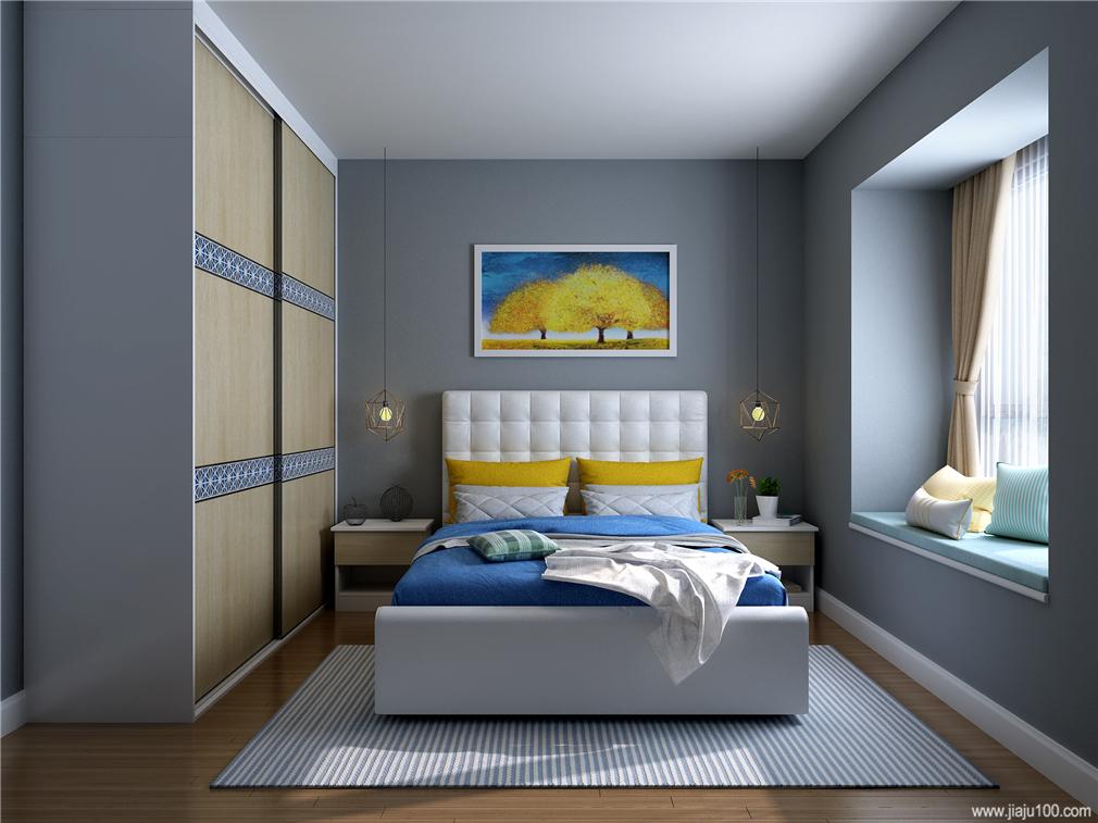 卧室床头柜高度
