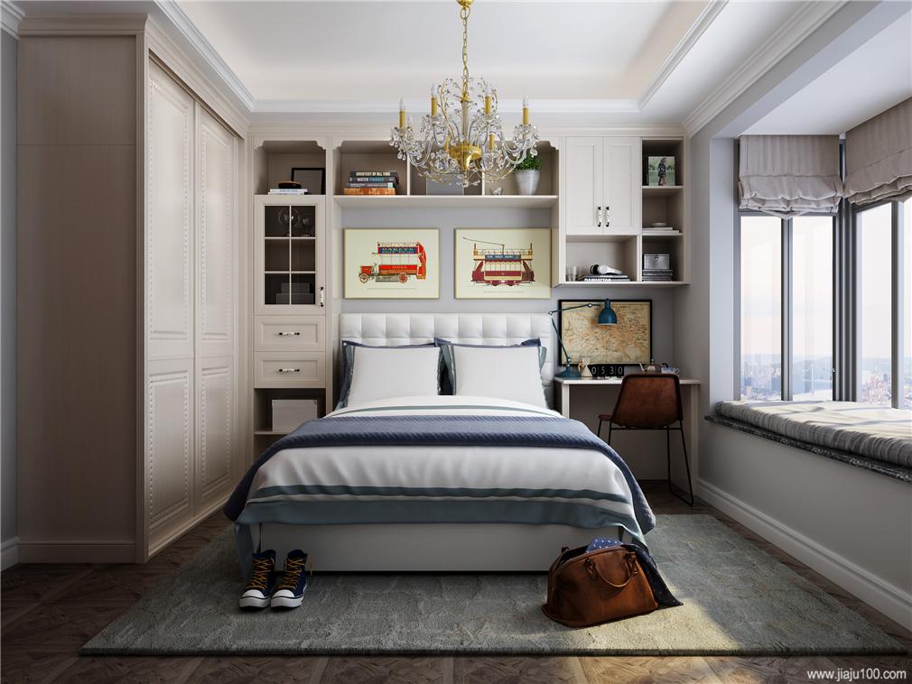 卧室床飘窗设计