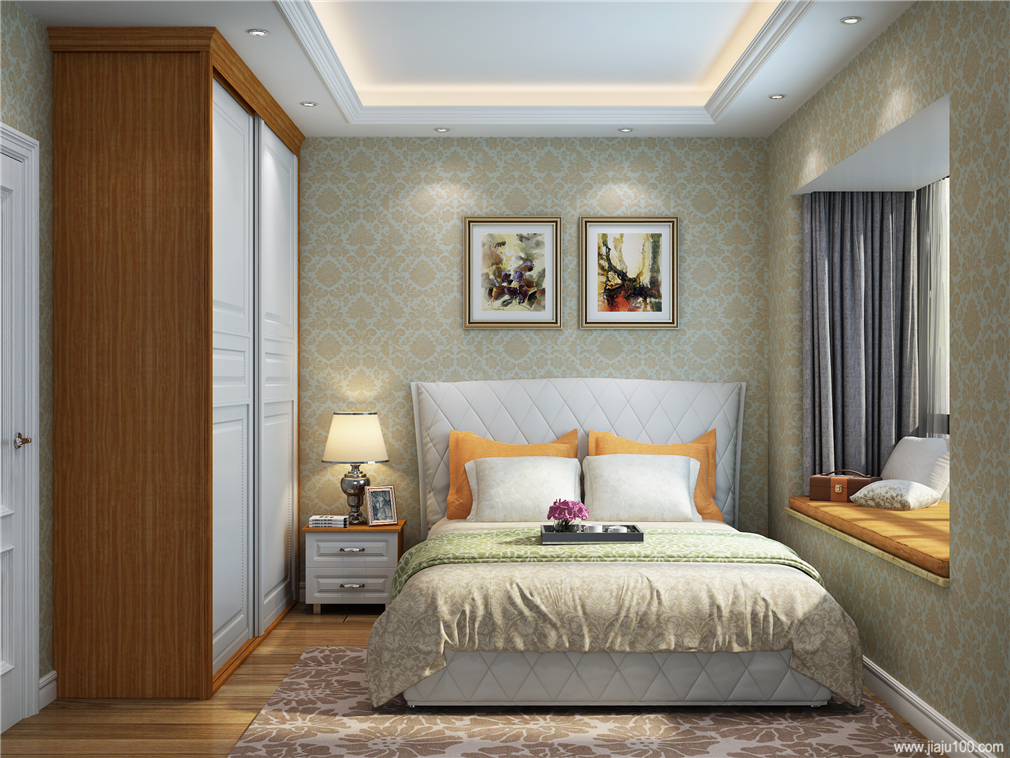 床飘窗休闲区设计