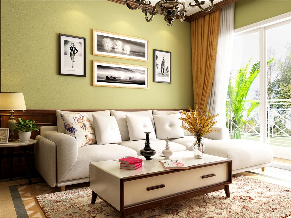 客厅定制家具