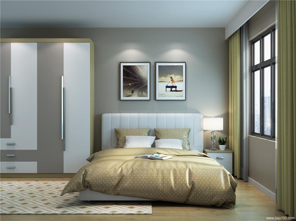 卧室床衣柜设计图片