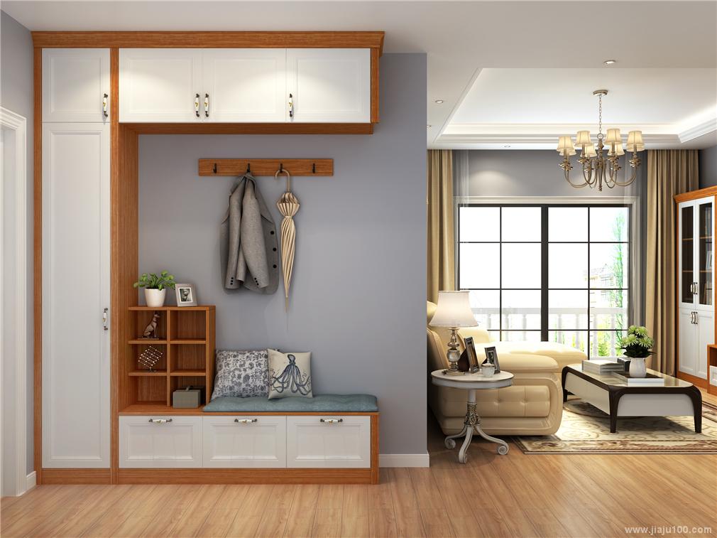玄关柜尺寸设计