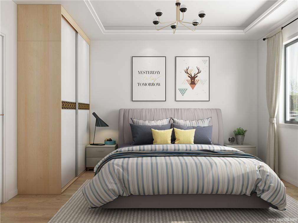 卧室床床头柜定制