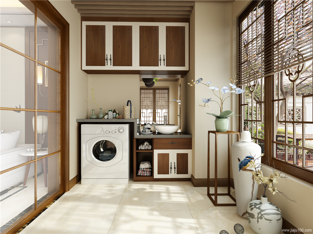 洗手台阳台储物柜定制
