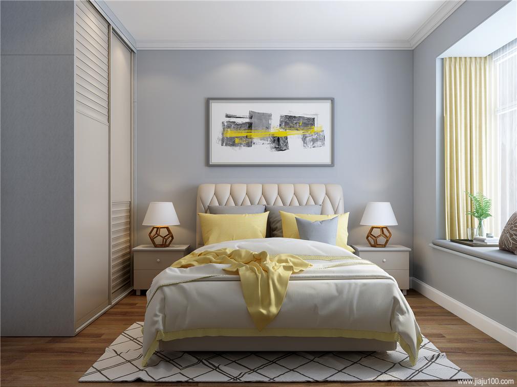卧室定制床衣柜尺寸