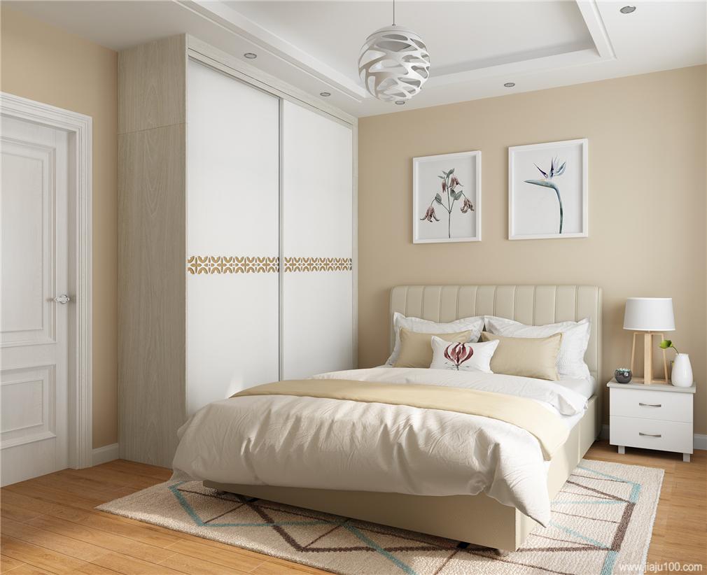 卧室定制家具效果图