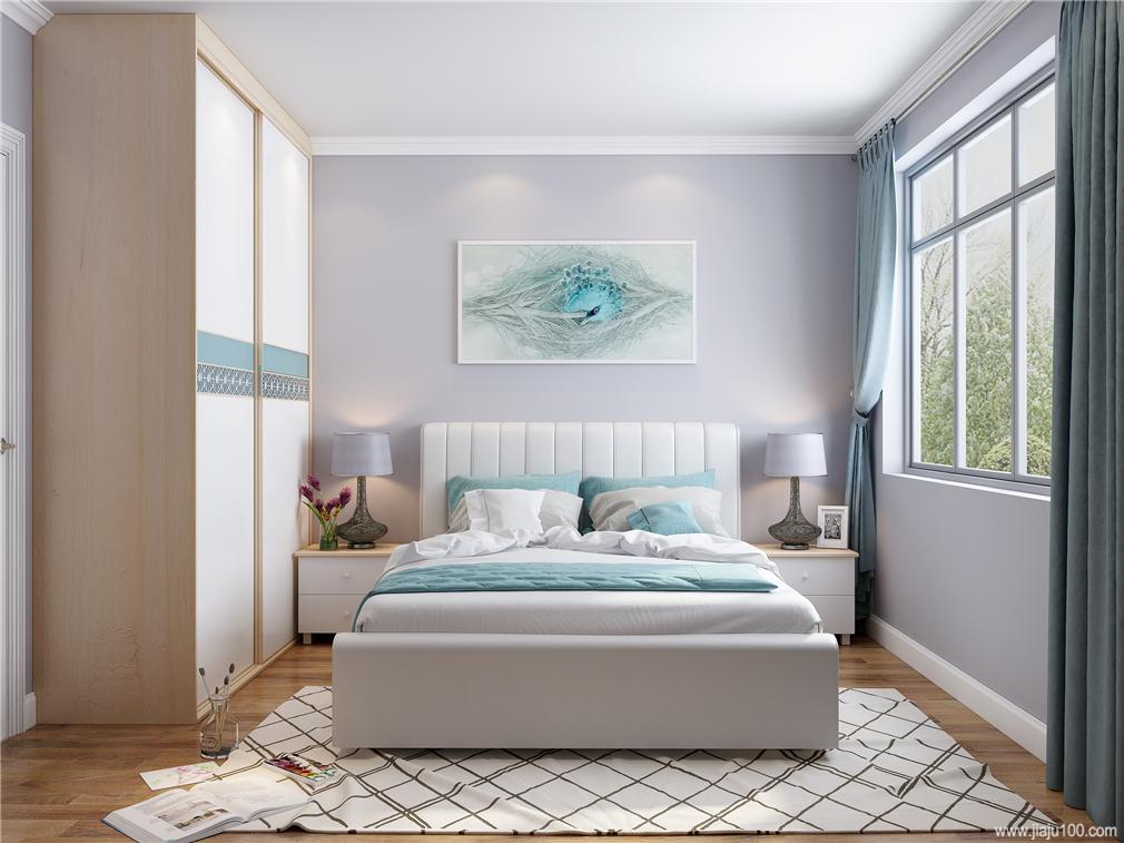 简洁次卧家具设计设计效果图