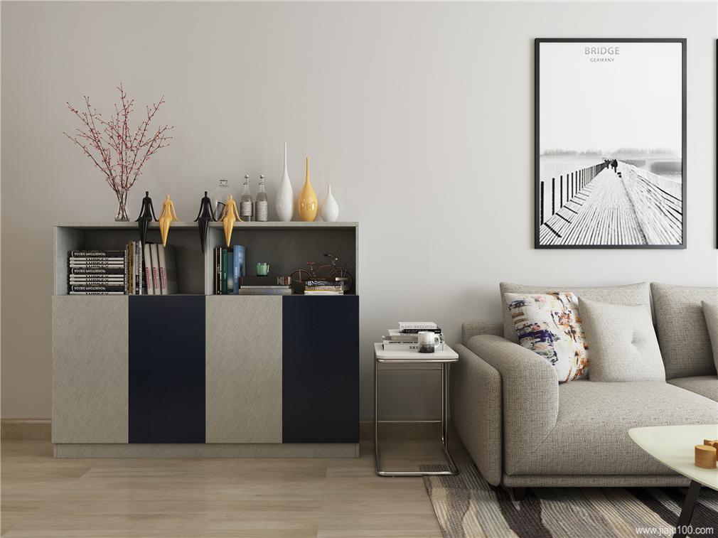 客厅装饰储物柜收纳柜