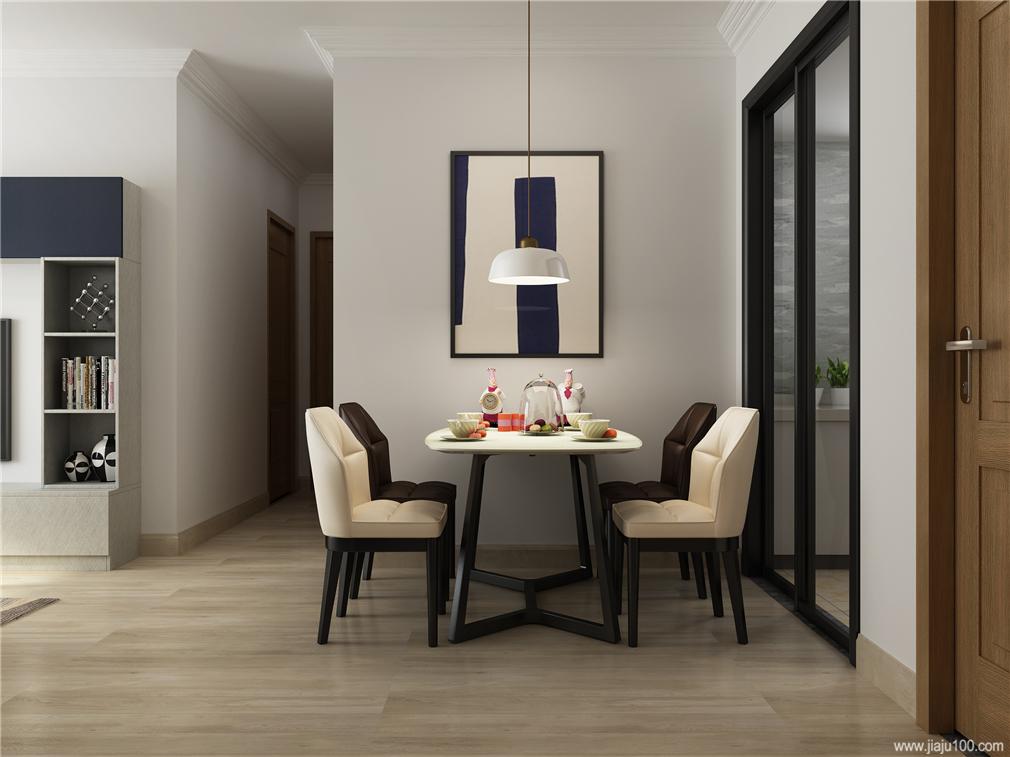 餐厅不锈钢餐桌+皮椅