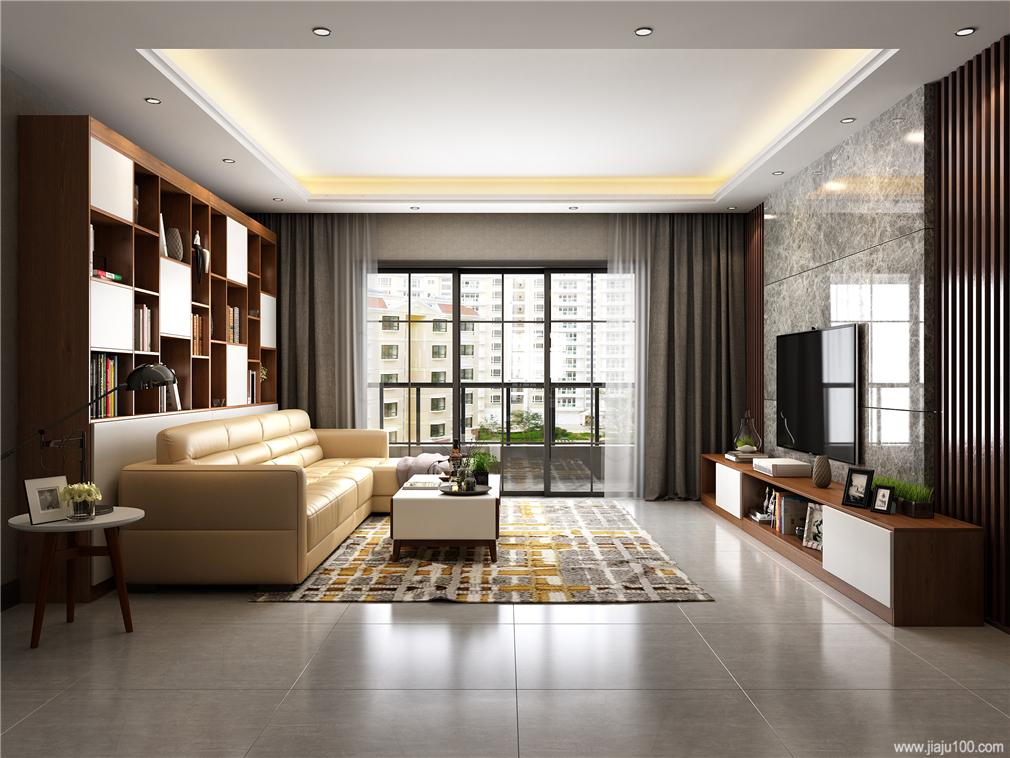 现代风格客厅家具搭配效果图