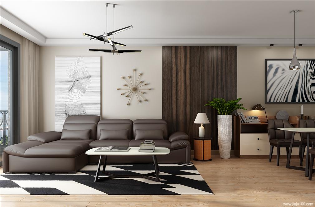 客厅高档沙发茶几组合