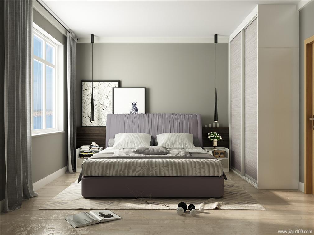 卧室家具组合搭配效果图