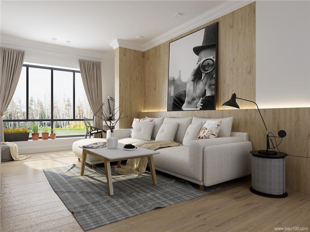 现代简约客厅沙发
