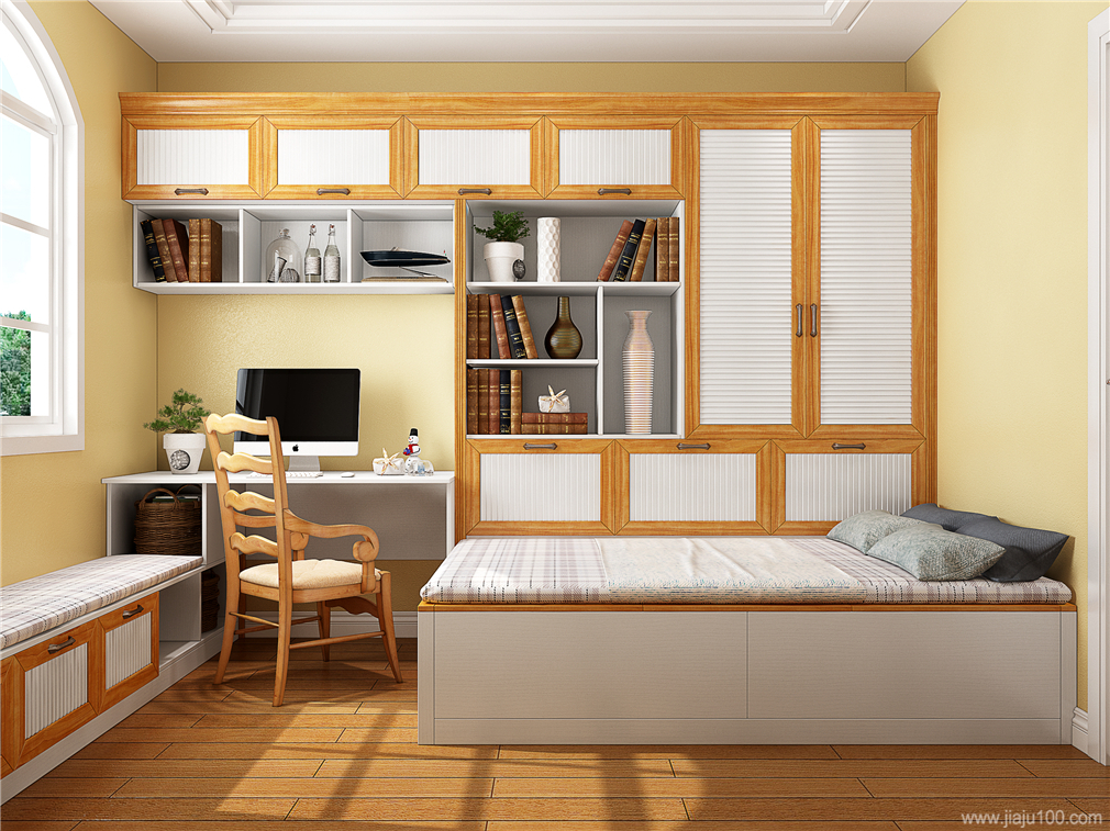 小书房榻榻米床