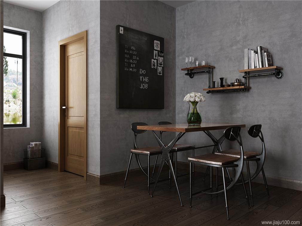 工業風格餐桌椅
