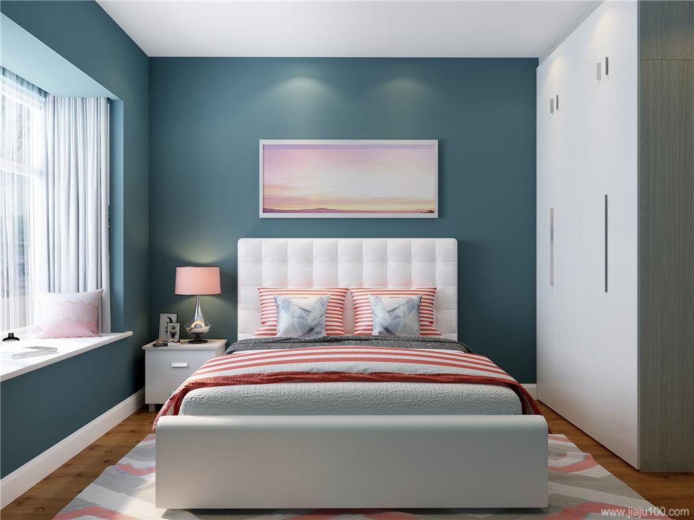 10平米次卧家具摆放效果