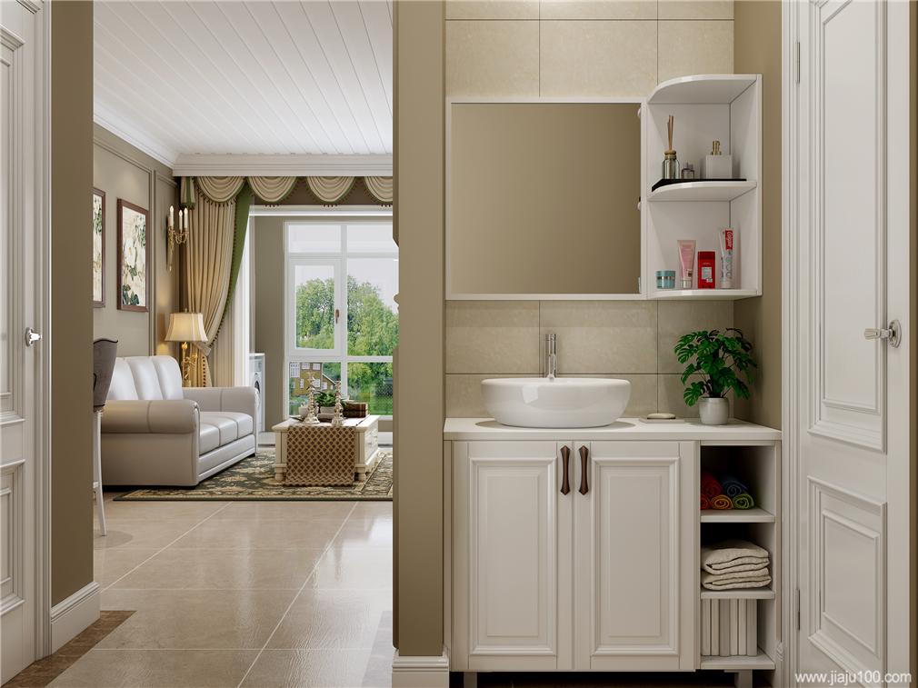客厅盥洗柜
