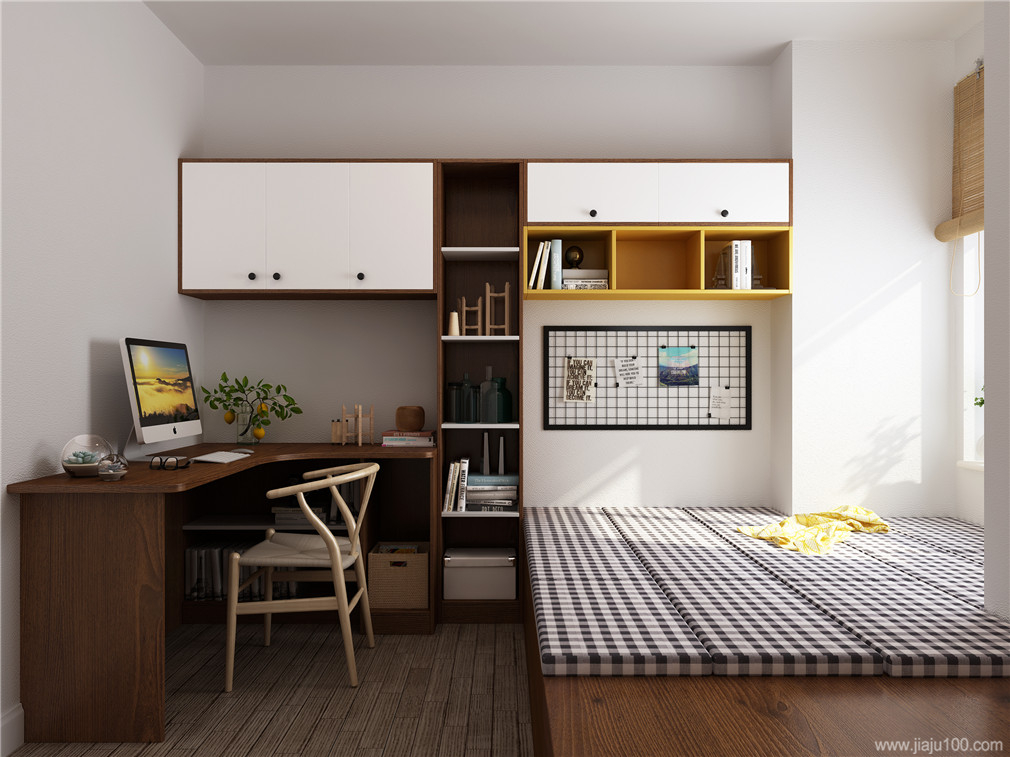 北欧风格儿童房组合家具