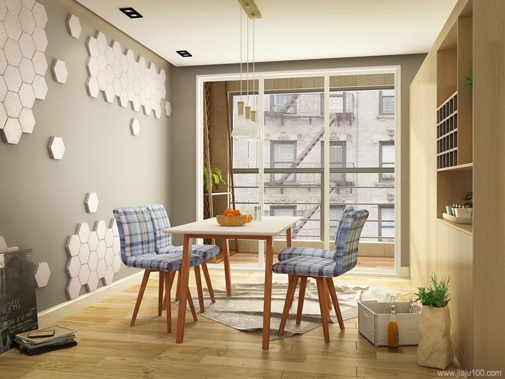 简约餐厅家具