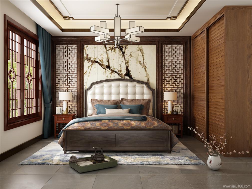 古典中式卧室家具设计