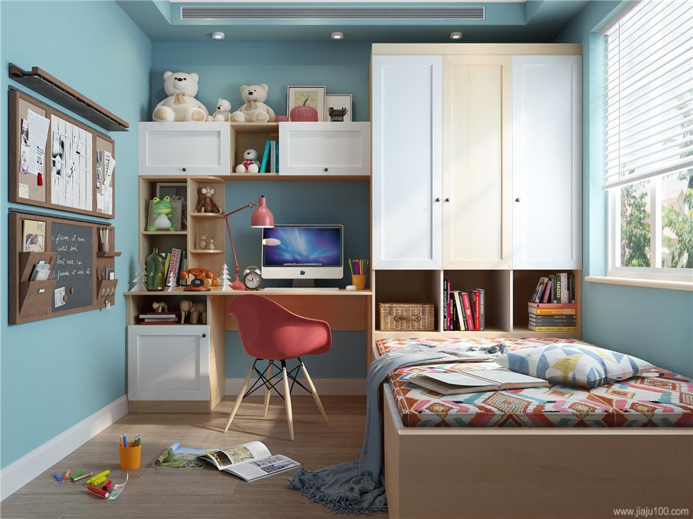 儿童房家具设计案例