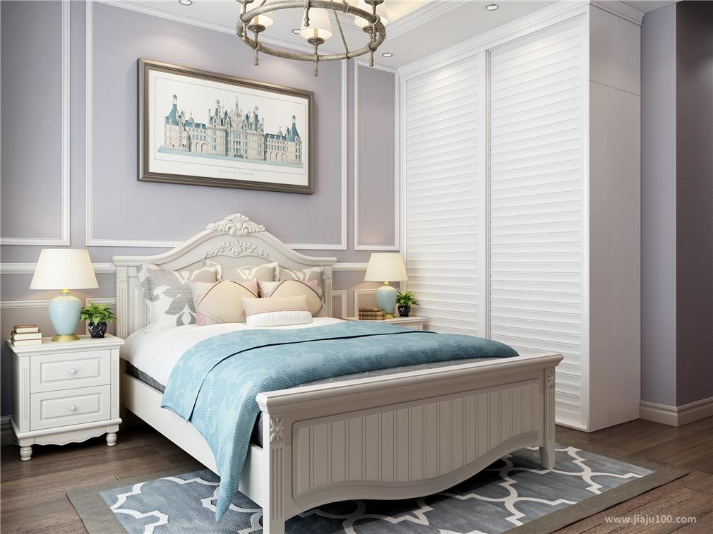欧式风格卧室家具设计效果图