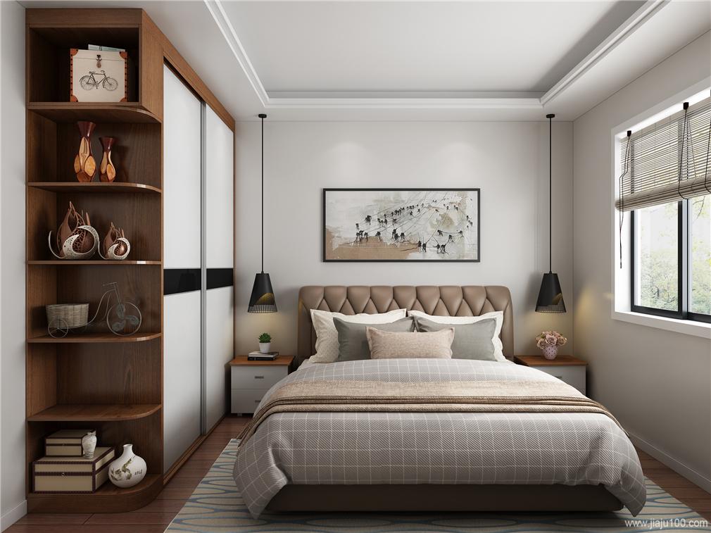 次卧室家具设计效果图