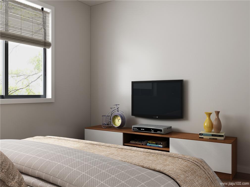 一字型卧室电视柜