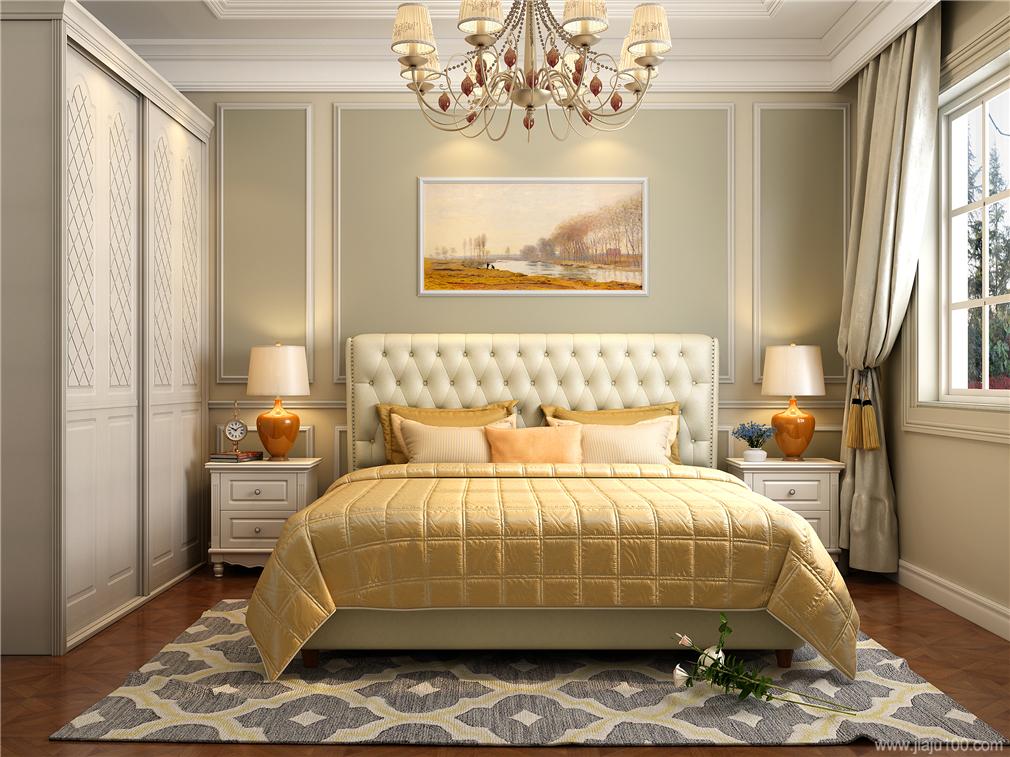 欧式次卧家具