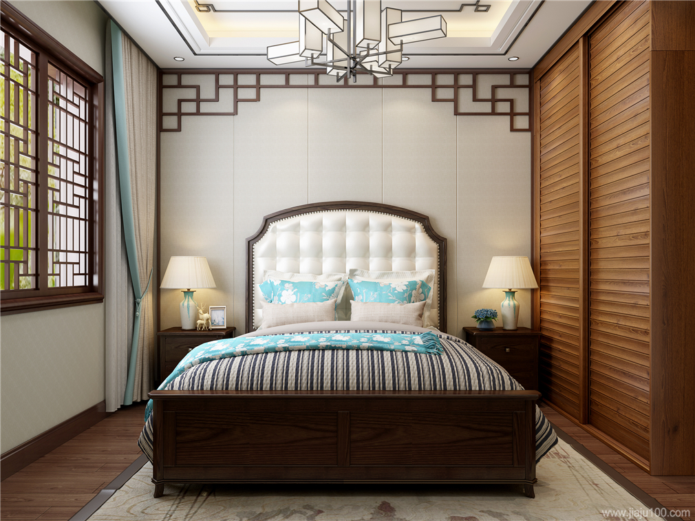 新中式风格软床
