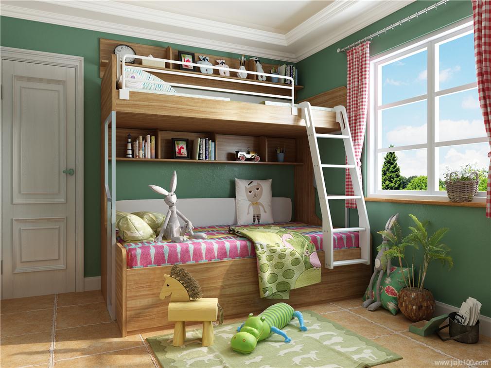 贝思科子母床设计