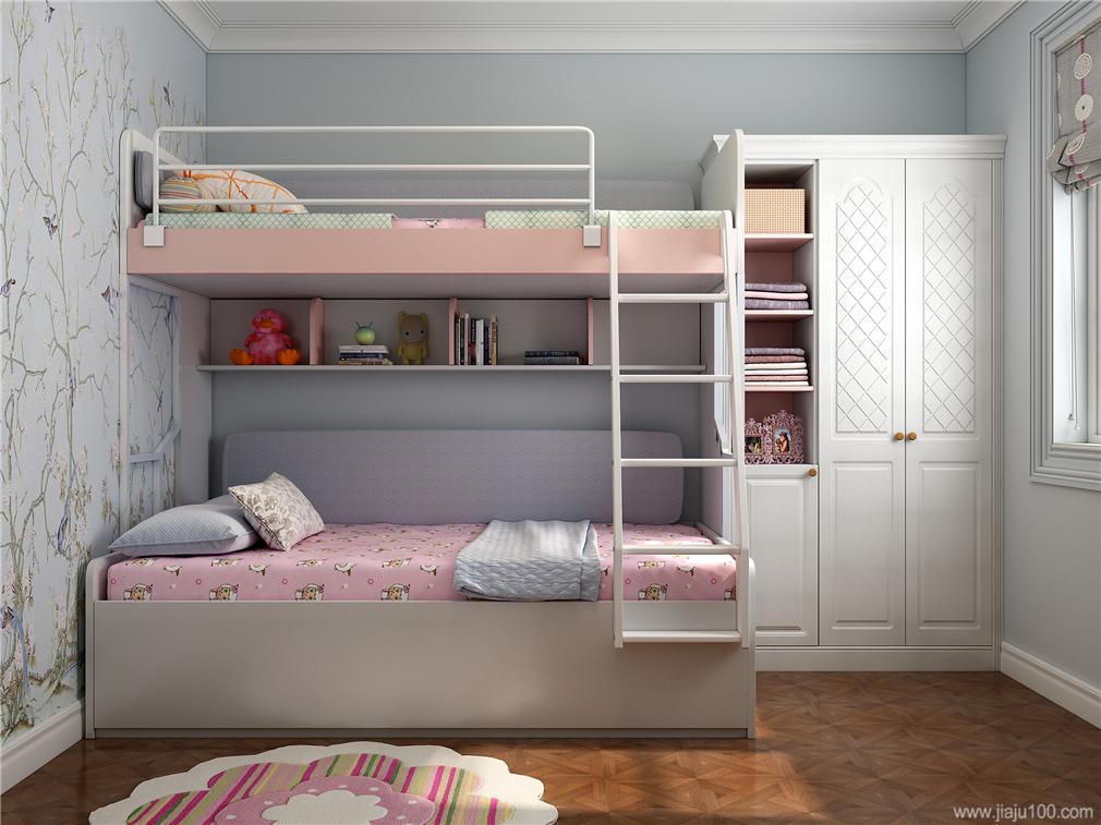 双人儿童房家具