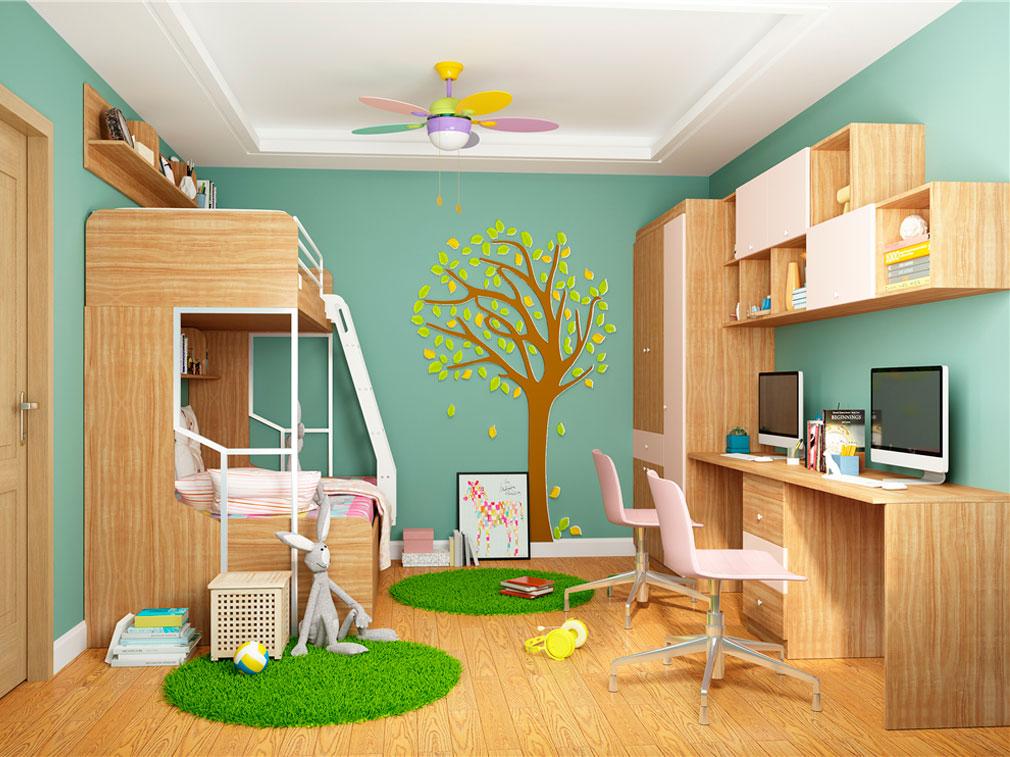 儿童房整体空间定制