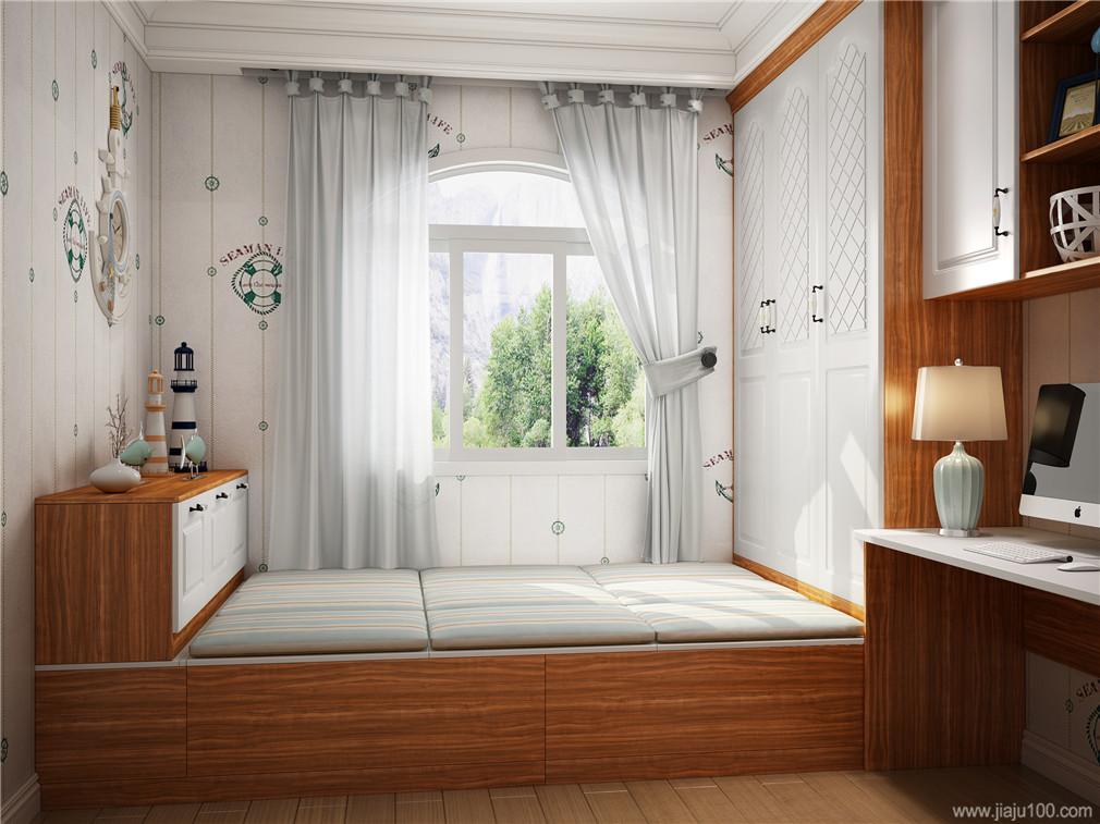 榻榻床柜组合设计
