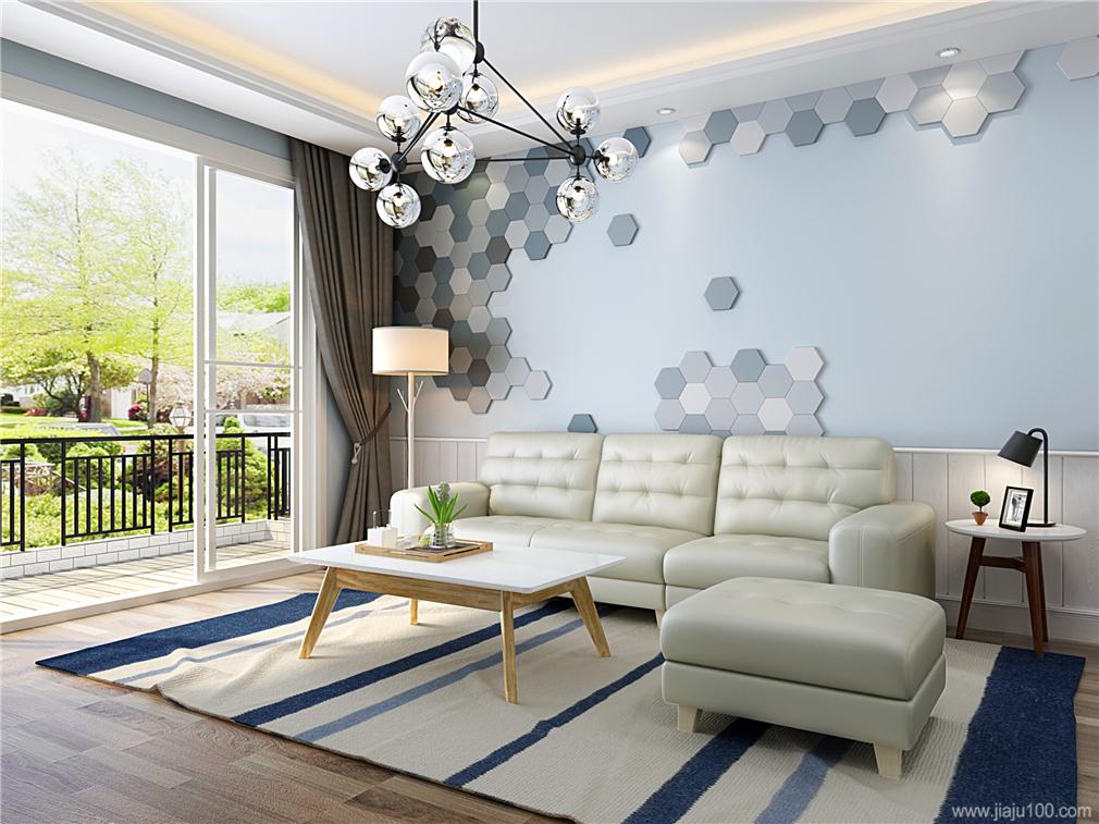 简约风格客厅家具