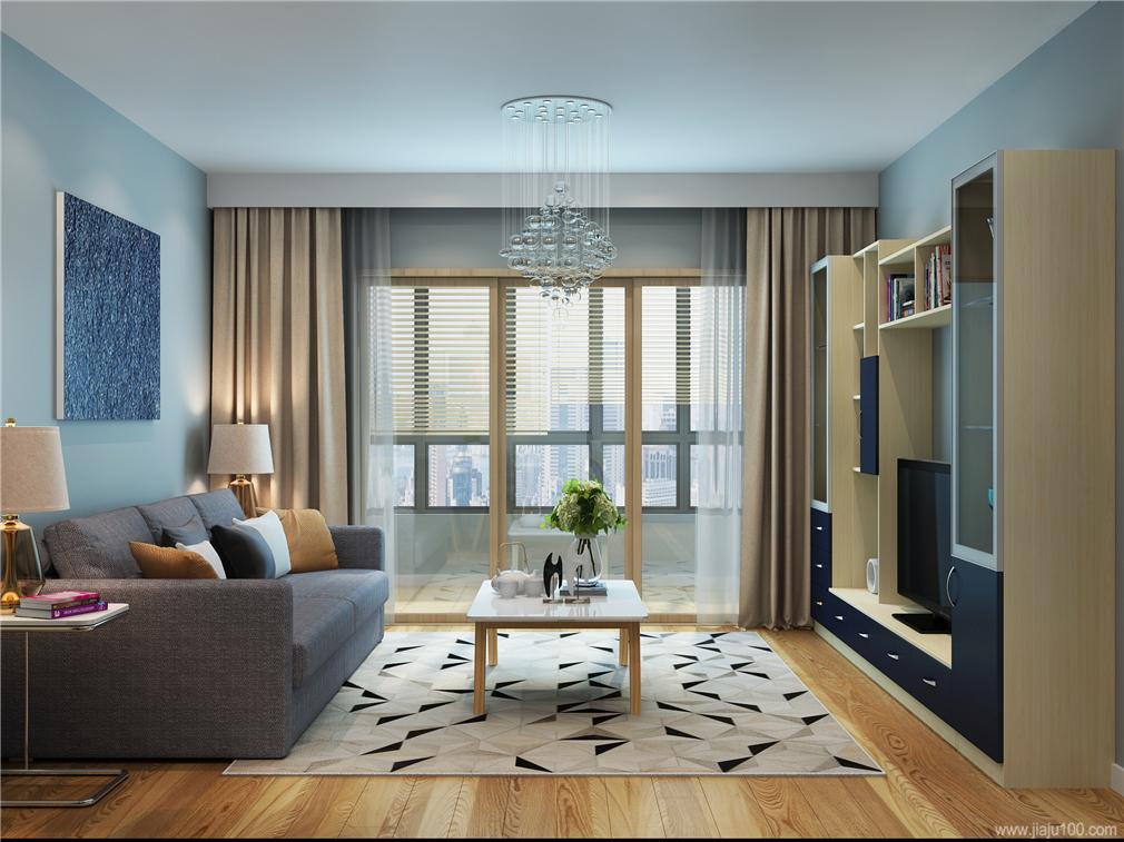现代时尚风格客厅家具设计