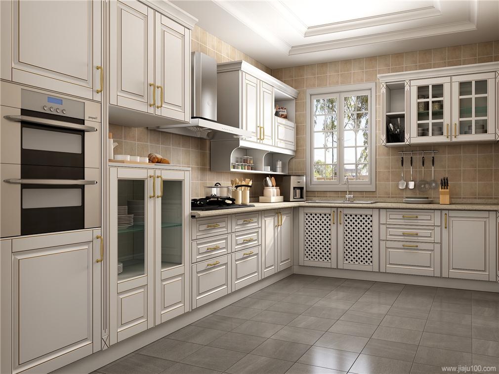 简欧风格厨房设计图