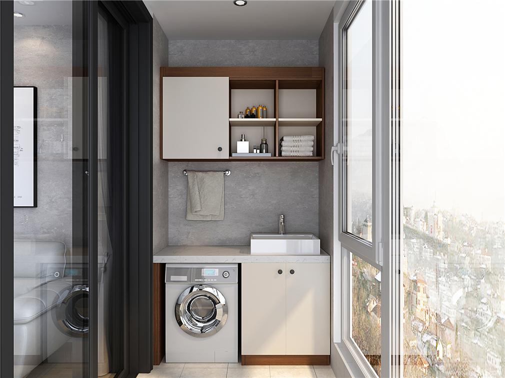极简系列阳台柜设计