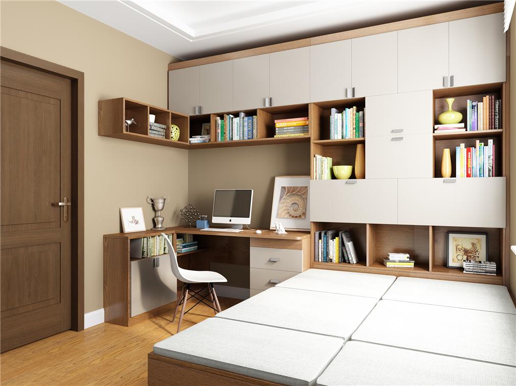 书房书桌柜定制