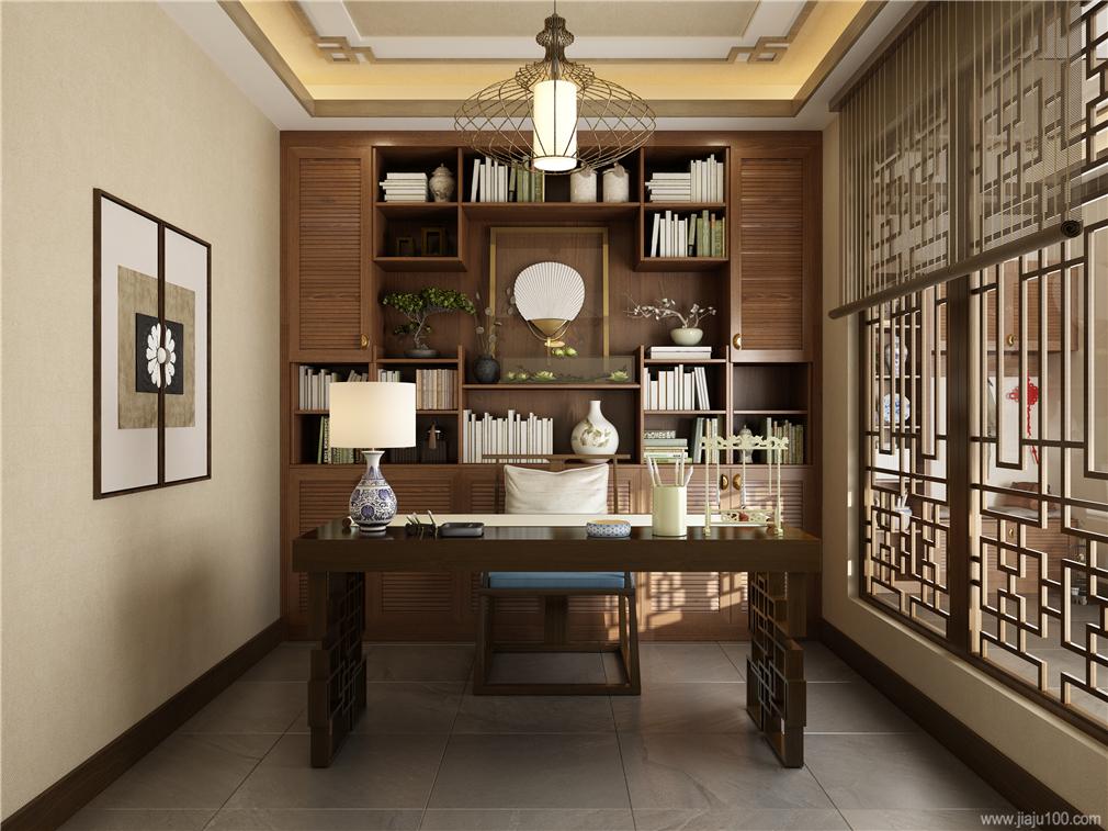 古典中式書柜定制