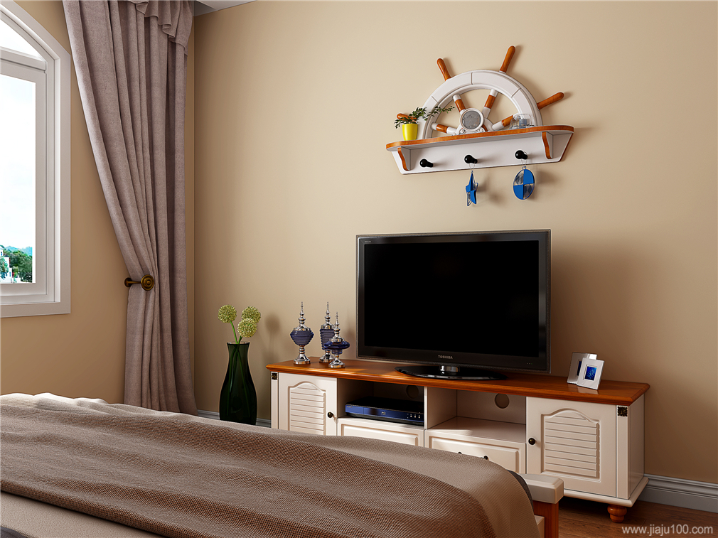 地中海卧室电视柜