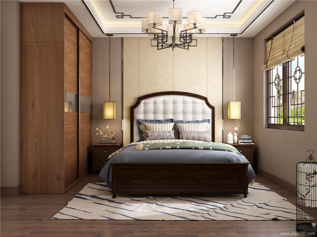 中式风格卧房家具定制