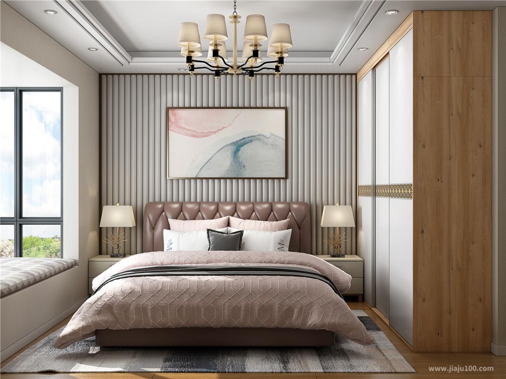 现代风格主卧室家具设计