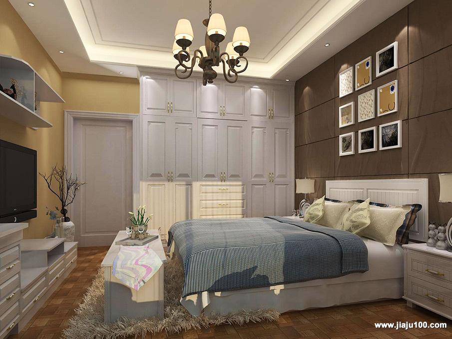 卧室家居效果图